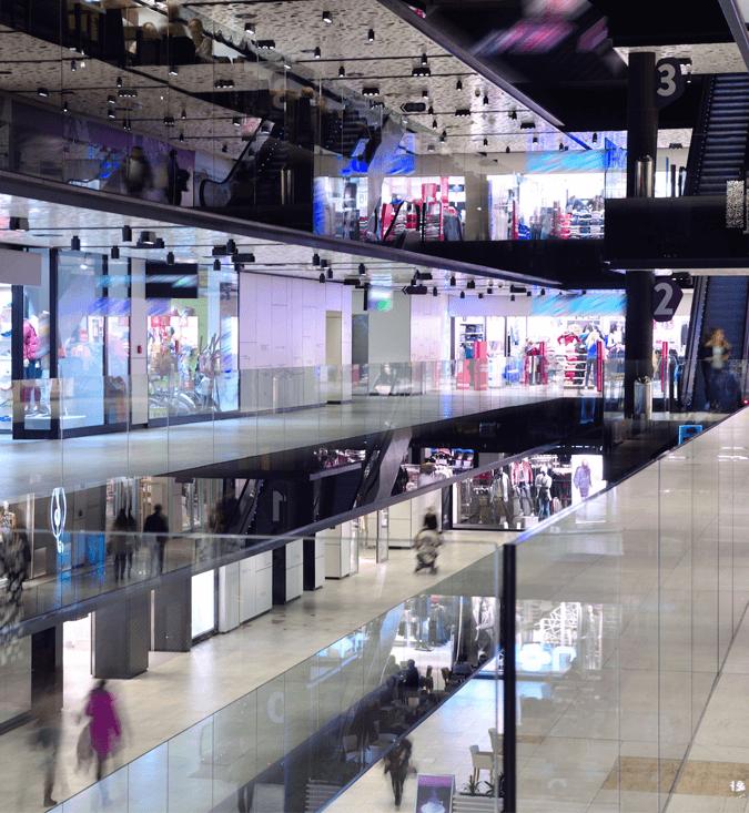 Reformas integrales de centros comerciales