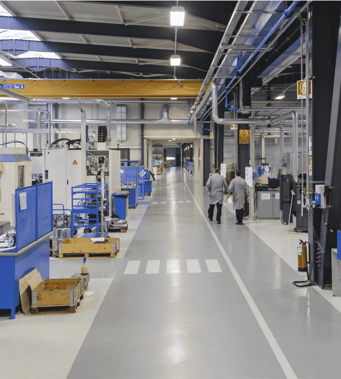 Rehabilitación integral de plantas de producción