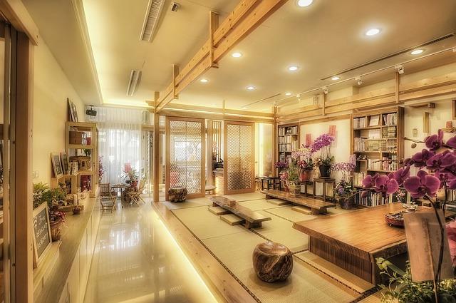 estilo decorativo oriental