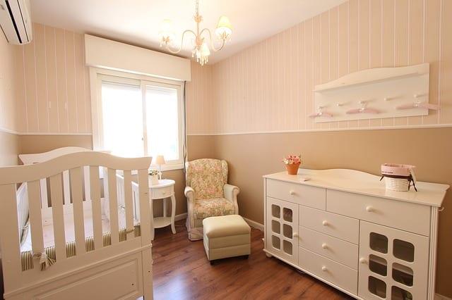 Paso a paso para organizar el cuarto del bebé