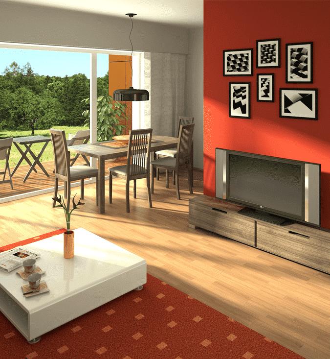 Usa el color para reformar tu hogar
