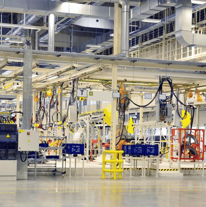 reformas integrales de plantas de producción
