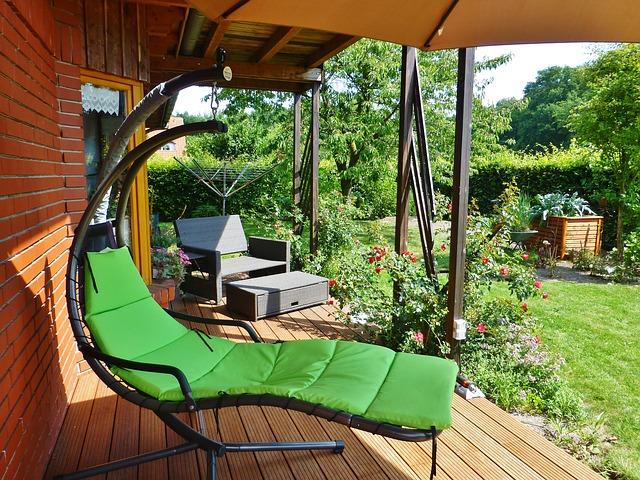 decorar la terraza con madera