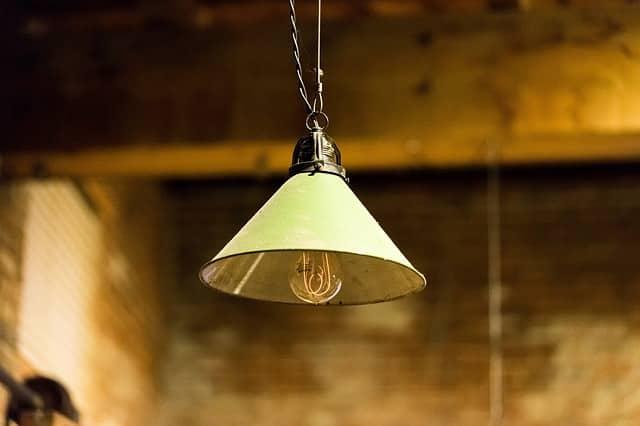 iluminación metálica