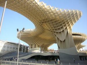 Grandes hitos de la arquitectura española: las setas de Sevilla