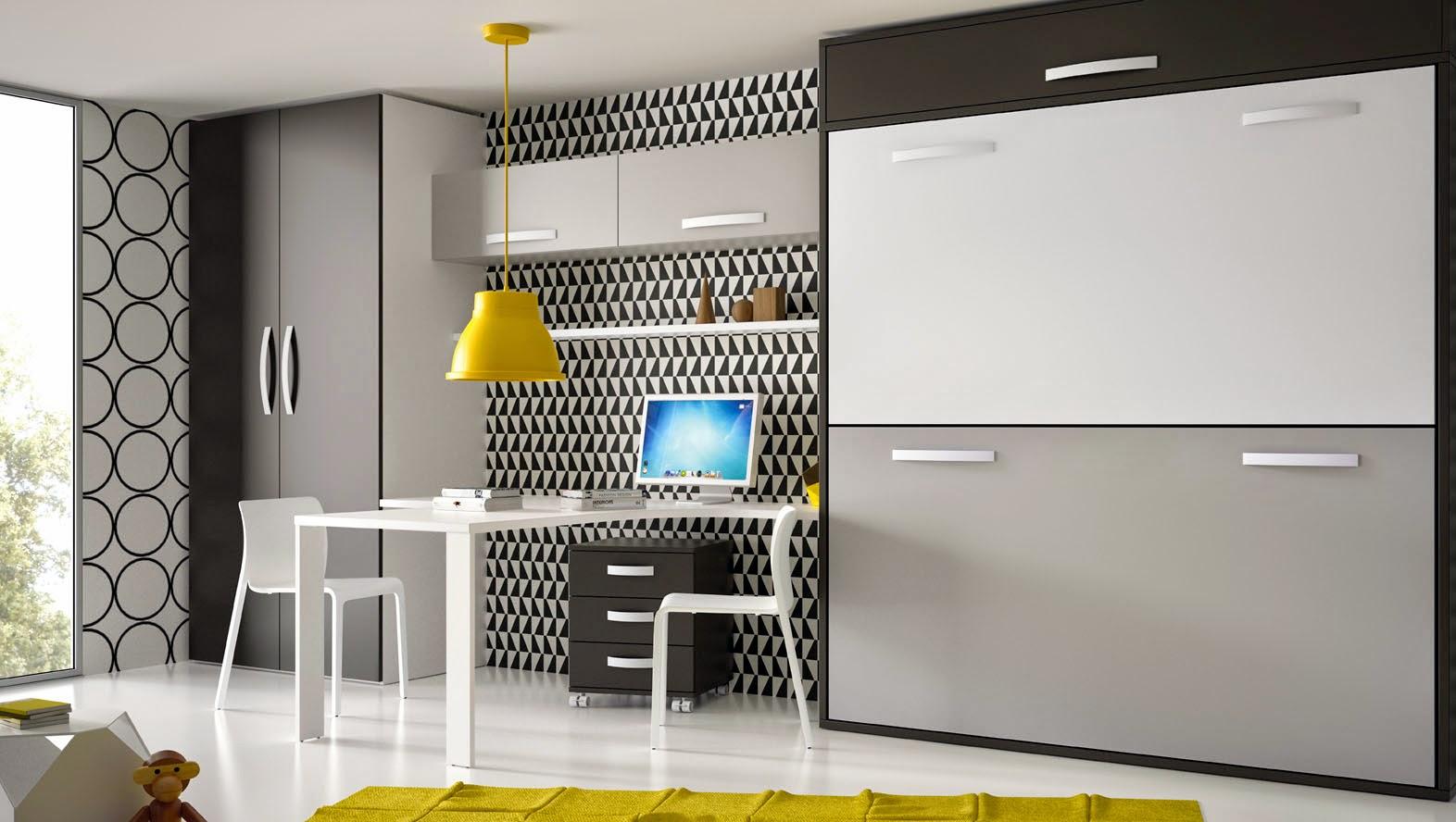 Consejos para decorar dormitorios infantiles idealiza - Armarios con cama incorporada ...