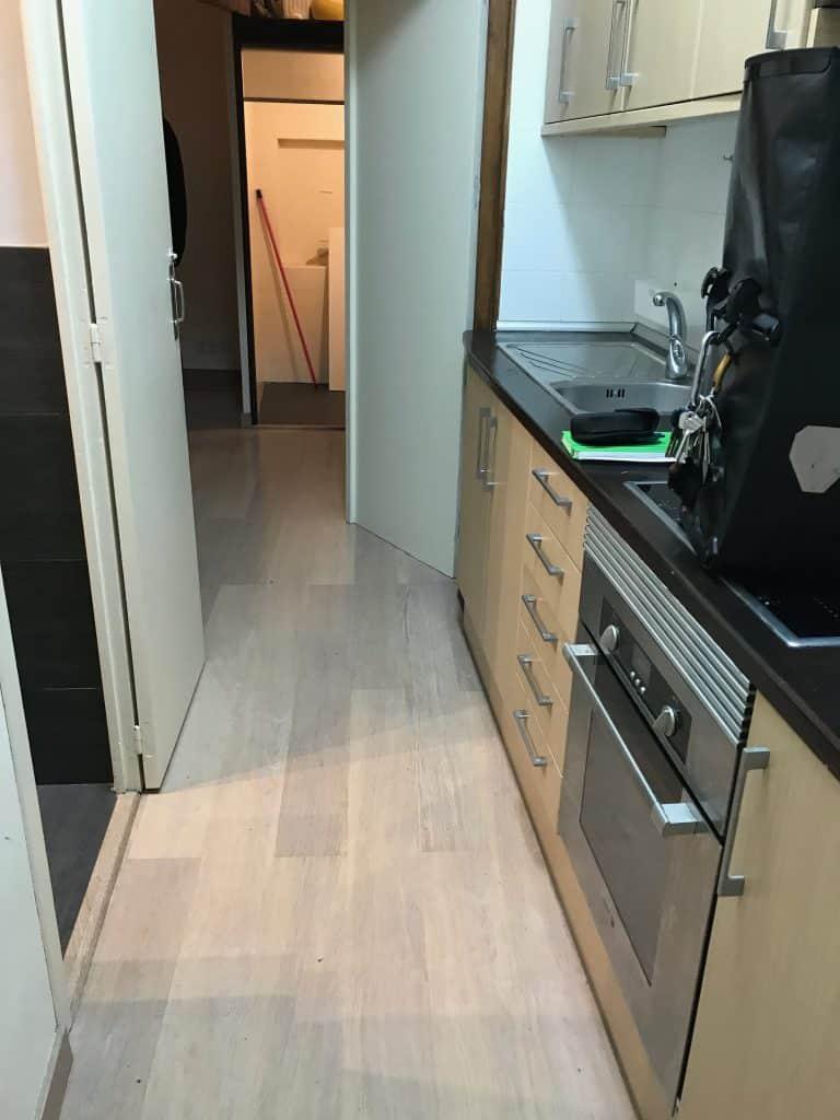 Reforma de piso en C/De La Cirera (Born) - Barcelona (Antes)