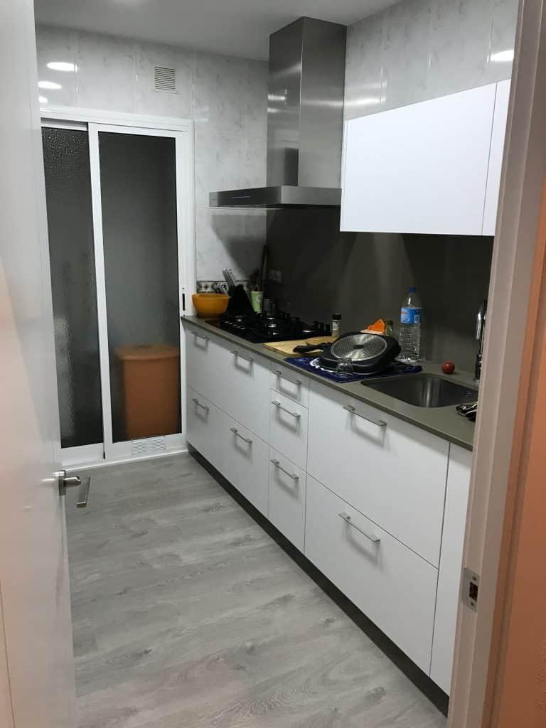 Reforma de piso en Rambla Prim - Barcelona (Antes)