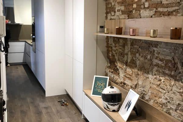 Reforma de piso en C/De La Cirera (Born) - Barcelona (Después)