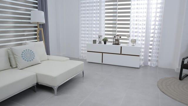 cortinas salón moderno