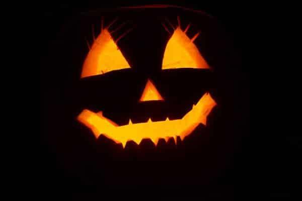 decoracion halloween calabza