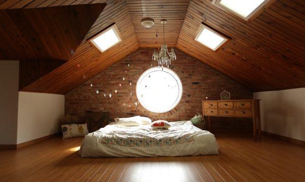 ático con dormitorio