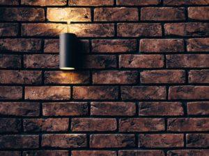 lampara en muro